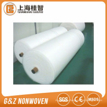 Parallel Lapping 100% polyester fabric roll PET nonwoven rolls