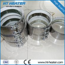 Aquecedores de fita de cerâmica de alta temperatura
