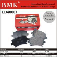 Premium Qualität Bremsbeläge (LD40007) für Audi A6