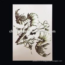OEM Wholesale Tatouage étanche pour bras Bras Scorpion tatouage tatouage bras Tatouage W-1013