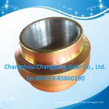 Rueda de desplazamiento de metal de zinc amarillo de alta calidad