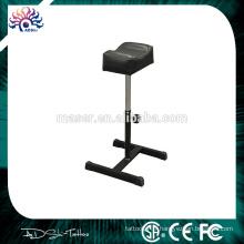 Chaise de repos en cuir tatouage réglable en hauteur, repose-bras tatouage en acier inoxydable TTKS020
