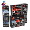 Nuevo diseño CMYK impresión venta caliente personalizada plegable caja blanca barata al por mayor