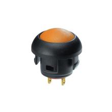 Interruptor de botón eléctrico a prueba de agua de tapa redonda