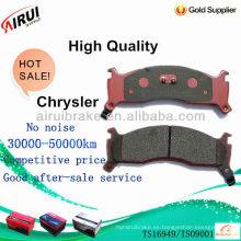 Almohadillas de freno de disco de alta calidad chrysler