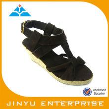 2014 fashion spring pump wedges sandals