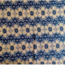 Neuer Entwurfs-Nylon Jacquardwebstuhl zwei Farben-Spitze-Gewebe-chinesische Nylonspitze