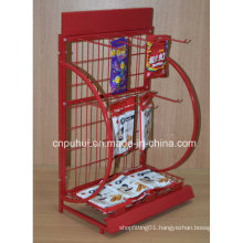 Powder Coated Snacks Expositor (PHY1075F)