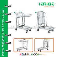 high quality warehouse cargo trolley