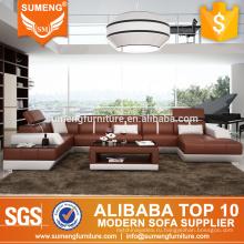 SUMENG корейский стиль коричневый кожаный оригинальный дизайн диван-кровать диплом