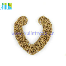 fashion DIY jewelry findings metal wire heart shape HT00112