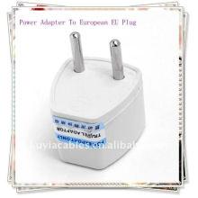 AC POWE PLUG Universal Travel Adaptateur d'alimentation électrique à European Plug permet le convertisseur de prise murale d'occasion en Europe