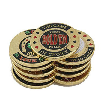 USA Metal Pressar Guard Protector Poker Chip Coins