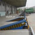 loading hydraulic steel loading dock truck ramp
