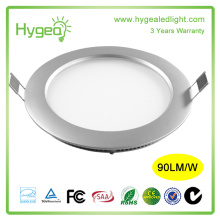 Alto brilho dimmable ultra fino 18w rodada luz do painel Led