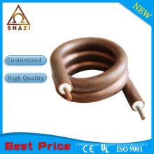 Elemento de calentamiento eléctrico Calentador de la bobina y elemento de calentamiento suministrado de fábrica