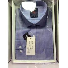Men's Cotton Vertical Striped Office Shirt