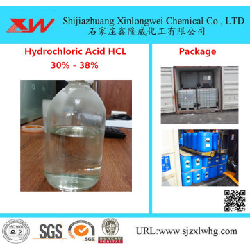Axit clohydric Hcl 31% -34%