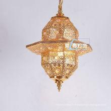 Zhongshan pendentif lustre en cristal marocain lanterne LT028