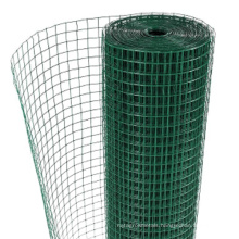 Good anti-corrosion 1x1 pvc coated galvanized welded wire mesh
