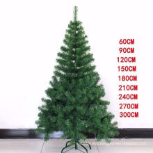 Christmas Tree and PE Artificial Big Modern Indoor 2021 Wholesale High Quality PVC Christmas Decoration Supplies Customized Size