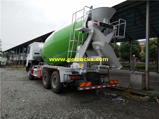 Cement Mixing Vehicles