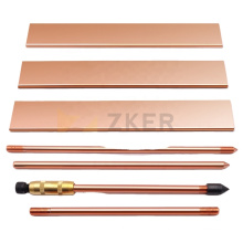 1/6 Free Sample 5/8-Inch by 8-Feet Copper Bonded Earth rod,Ground Rods For Electrical Industries