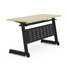 Flip up Table Top Training Table with Removable Metal Base