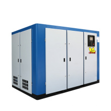 Double Stage Screw Air Compressor For Construction Industry Two Stage Screw Compressor