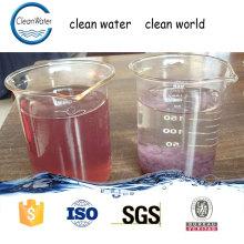 CW-08 agente descobajante de agua eliminación de color tratamiento químico de aguas residuales agentes auxiliares químicos n1