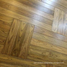 Smooth High Quality Robinia Parquet Wood Flooring