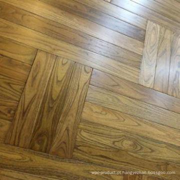 Revestimento de madeira liso do parquet do Robinia da alta qualidade