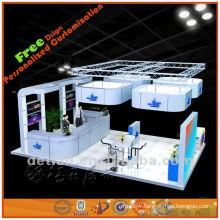 Nouveau salon de stand d'exposition acrylique stand d'exposition pas cher de Chine