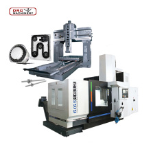 Heavy cutting double column cnc gantry machining center