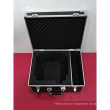 Caja de herramientas a prueba de choques de acero inoxidable ABS especialmente resistente a prueba de fuego