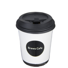 cheap price cup with lid dome flat lid for cold drinks customized logo