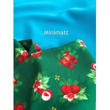 100% polyester teint en microfibre Minimatt