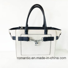 Moda clásica señora PU PU bolsas de la serpiente (NMDK-052503)