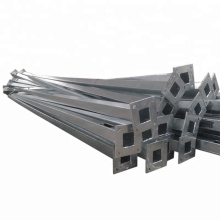 Q235,Q345 galvanized steel material road safety guardrail pole and highway barrier