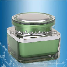 15G 30G 50G Square acrylic cosmetic cream packaging jar cosmetics cream empty jar