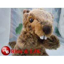 Eichhörnchen juguetes Esel Puppe benutzerdefinierte Plüschtier geschnitten