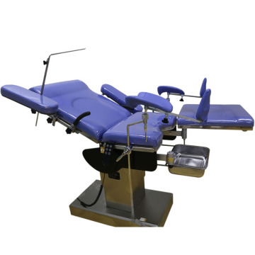 CE disetujui Listrik Gynecological Bed Improved Type