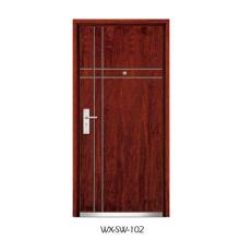 Competitive Steel Wooden Door (WX-SW-102)