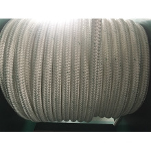 Double Braids Chemical Fiber Ropes Mooring Rope PP Rope Polyester Rope PE Rope