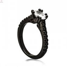 Оптом итальянские черные медные украшения женские украшения ключ кольцо для леди