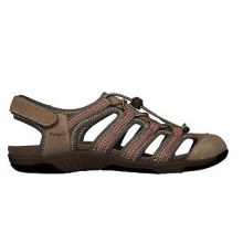 Sandalias estilo deportivo de cuero al aire libre Hit para las mujeres