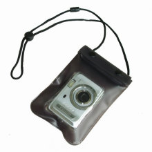 Underwater Sports Zip Lock Digital Camera Waterproof Lanyard Pouch (YKY7208)