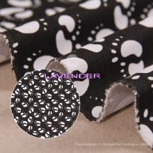 Double Footprint Patterns 250GSM sac toile tissu