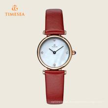 Arbeiten Sie Edelstahl-heiße Verkaufs-Uhr für Damen 71126 um