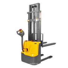 Xilin 1500kg warehouse pallet lifting semi electric walkie stacker forklift